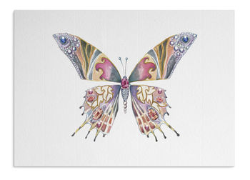 Jewelled Butterfly Card