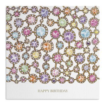 Jewels Birthday Card