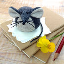 Handmade Collectible Mouse Paperweight