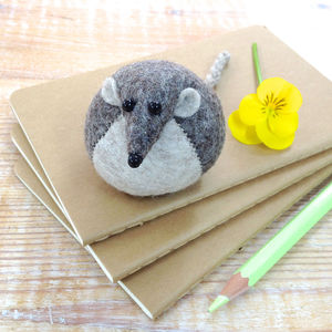 Handmade Henry The Harvest Mouse Paperweight - sculptures