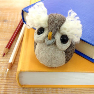 Handmade Ollie The Owl Paperweight - paperweights