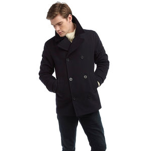 Men's Pea Coat - coats & jackets