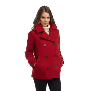Women's Pea Coat - coats & jackets