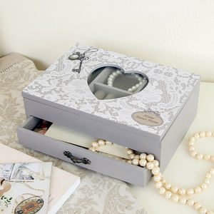 Home Sweet Home Wooden Jewellery Chest