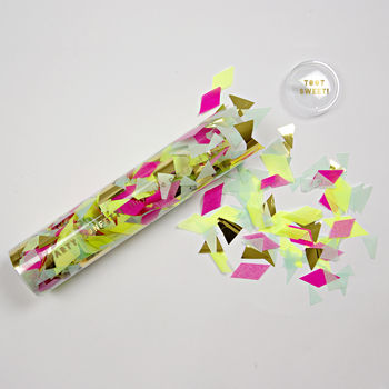Large Tube Of Party Confetti
