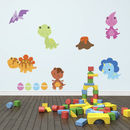 Baby Dinosaurs Wall Sticker Pack