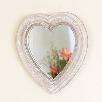 Decorative Heart Shaped Wall Mirror