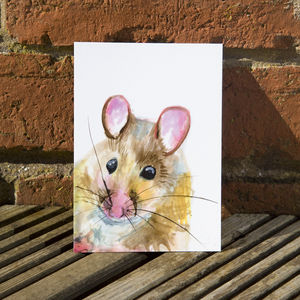 Inky Mouse Postcards