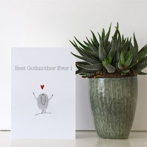 Godmother Card - cards & invitations