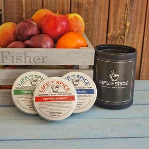 Gourmet Spice Three Tin Collection - summer food & drink