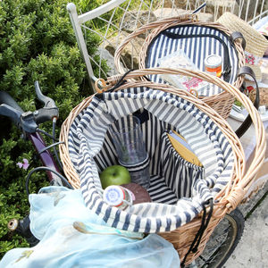 Set Of Two Bicycle Picnic Baskets For Up To Four People - boxes, trunks & crates