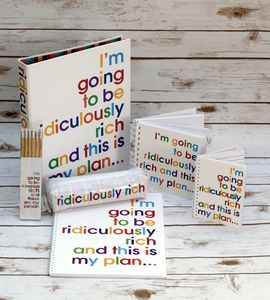 Ridiculously Rich Refill Pad - writing paper & sets