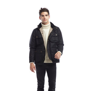 Mens Wax Denison Jacket - coats & jackets