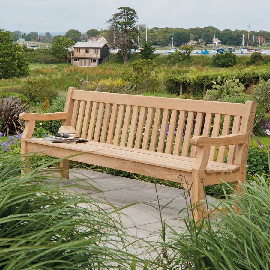 Roble Park Bench In Three Sizes By Out There Exteriors