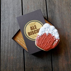 Pint Of Ale Biscuit - biscuits