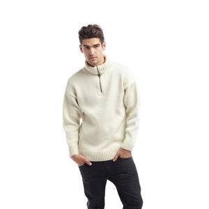 Men's Zip Neck Submariner Jumper