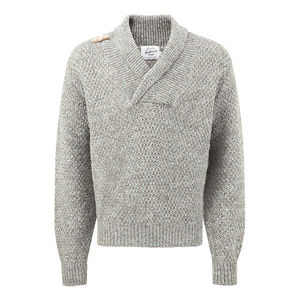 Men's Toggle Shawl Collar Sweater