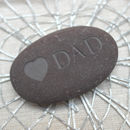 Engraved Mum Or Dad Pebble