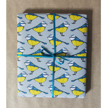 Luxury British Bird Wrapping Paper