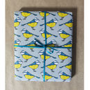Luxury Blue Tit British Bird Gift Wrap