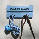 Personalised Dog Lead Rack