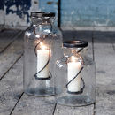 Kelburn Small Glass Candle Jar