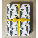 Luxury Penguin Gift Wrap