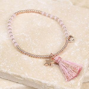 Tassel Star Friendship Bracelet - summer sale