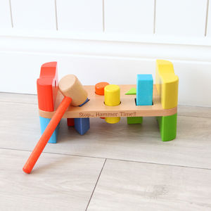 Personalised Hammer Bench - personalised gifts for babies