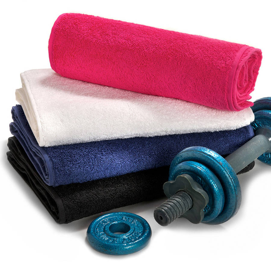 Personalised Gym Towel By Duncan Stewart