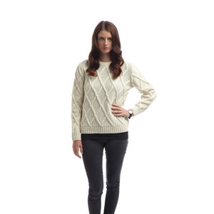 Women's Cross Check Sweater - jumpers