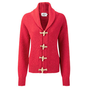Women's Toggle Cardigan - women's fashion