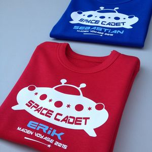 Personalised Space Cadet T Shirt