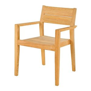 Roble Stacking Garden Armchair - garden furniture