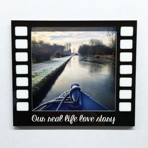 Personalised Magnetic Picture Frame Film Reel