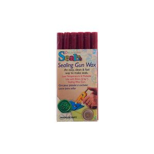 Sealing Wax Sticks For Wax Gun Set Of Six - wax seals