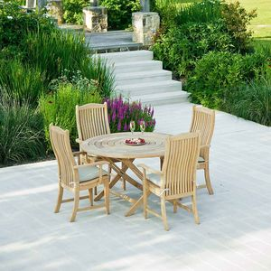 Roble Bengal Folding Dining Table - garden furniture