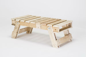Pallet Wood Folding Table
