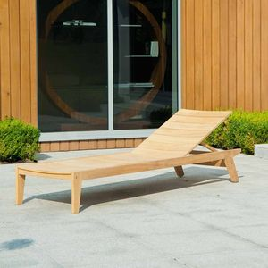 Roble Garden Sunbed - garden furniture