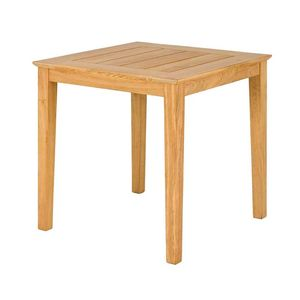 Roble Square Cafe Table - garden furniture