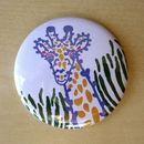 Giraffe Pocket Mirror