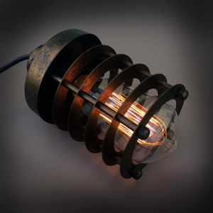 Industrial Cage Pendant - lighting