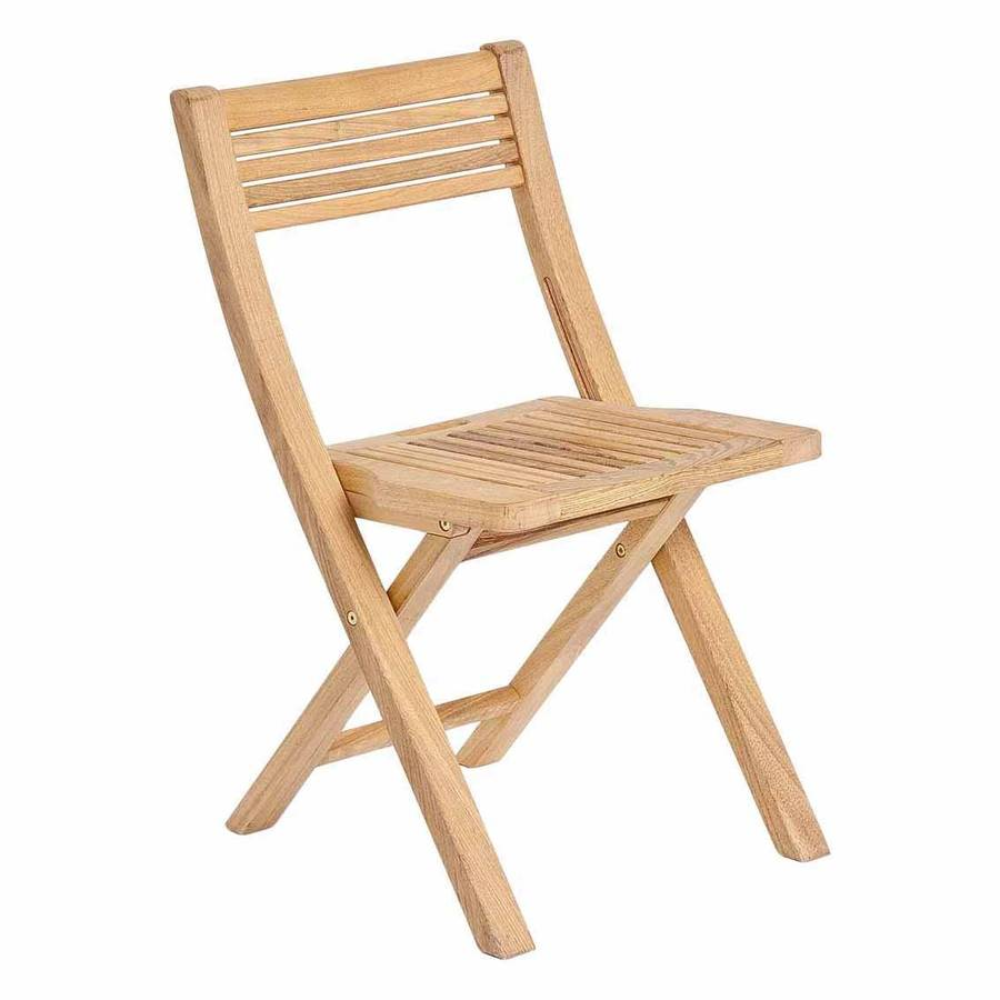 roble folding patio chair by out there exteriors