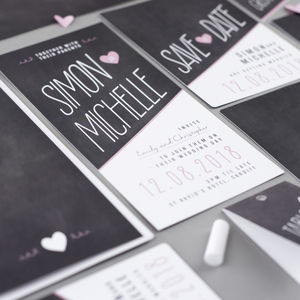 Penny Wedding Invitation, Further Information And RSVP - wedding stationery