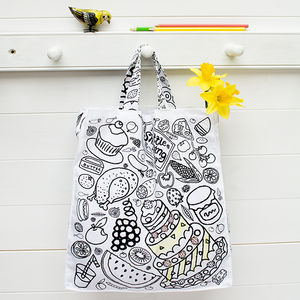 Colour In My Little Shopping Bag X1 - stocking fillers