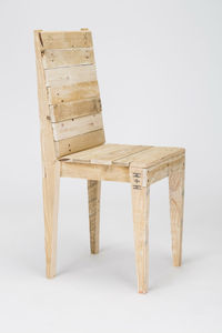 Pallet Wood Dining Chair - furniture