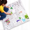 Colour In Tablecloth Puzzletime *Personalise It Option