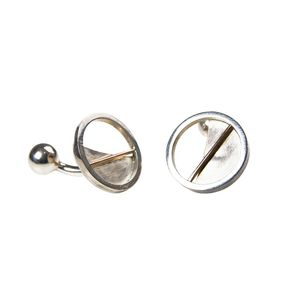 The Argyle Sterling Silver Cufflink's - men's accessories