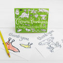 Colour In Postcards Thank You Choice Of Two