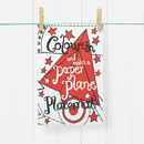 Colour In Placemat Paper Plane Choice Of Two